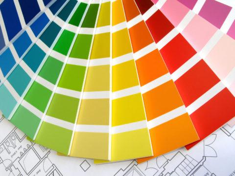اكتشف تأثير ألوان الجدران على النفسية