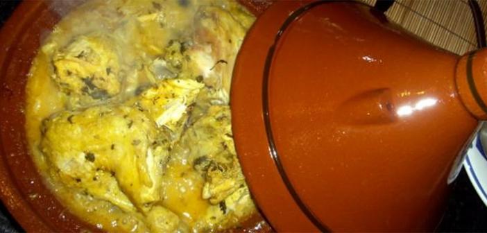 طريقة تحضير طاجن الدجاج على الطريقة المغربية
