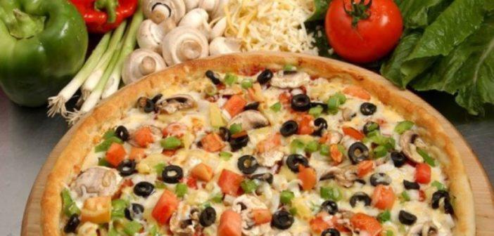 طريق عمل بيتزا بالخضار لذيذة