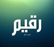 معنى اسم رقيم وصفات حامل اسم Raqim
