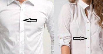 هذا هو السر من وجود أزرار النساء يمينا وأزرار الرجال يسارا ! Clothing buttons