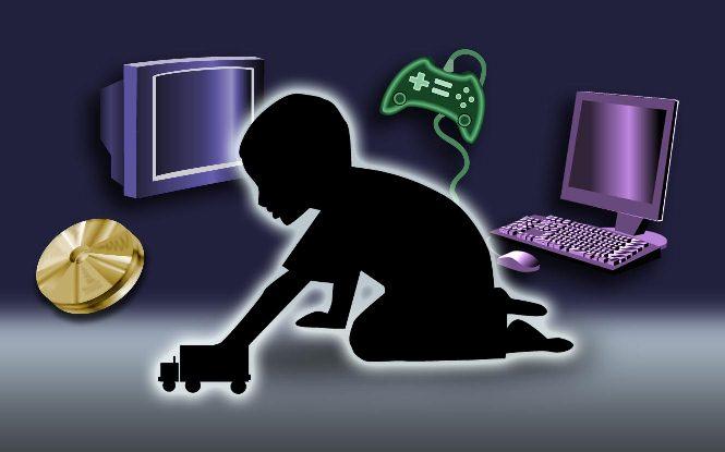 التلفاز يحرق فيتامين د عند الأطفال