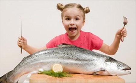 الأسماك لحماية الأطفال