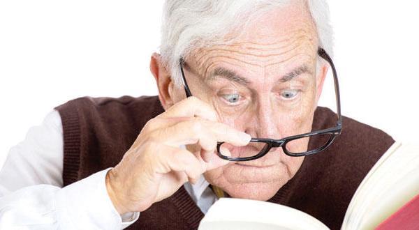البصر مع العمر