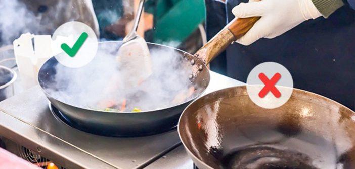 7 حيل تساعدك في تسرّع عمليات الطهي !
